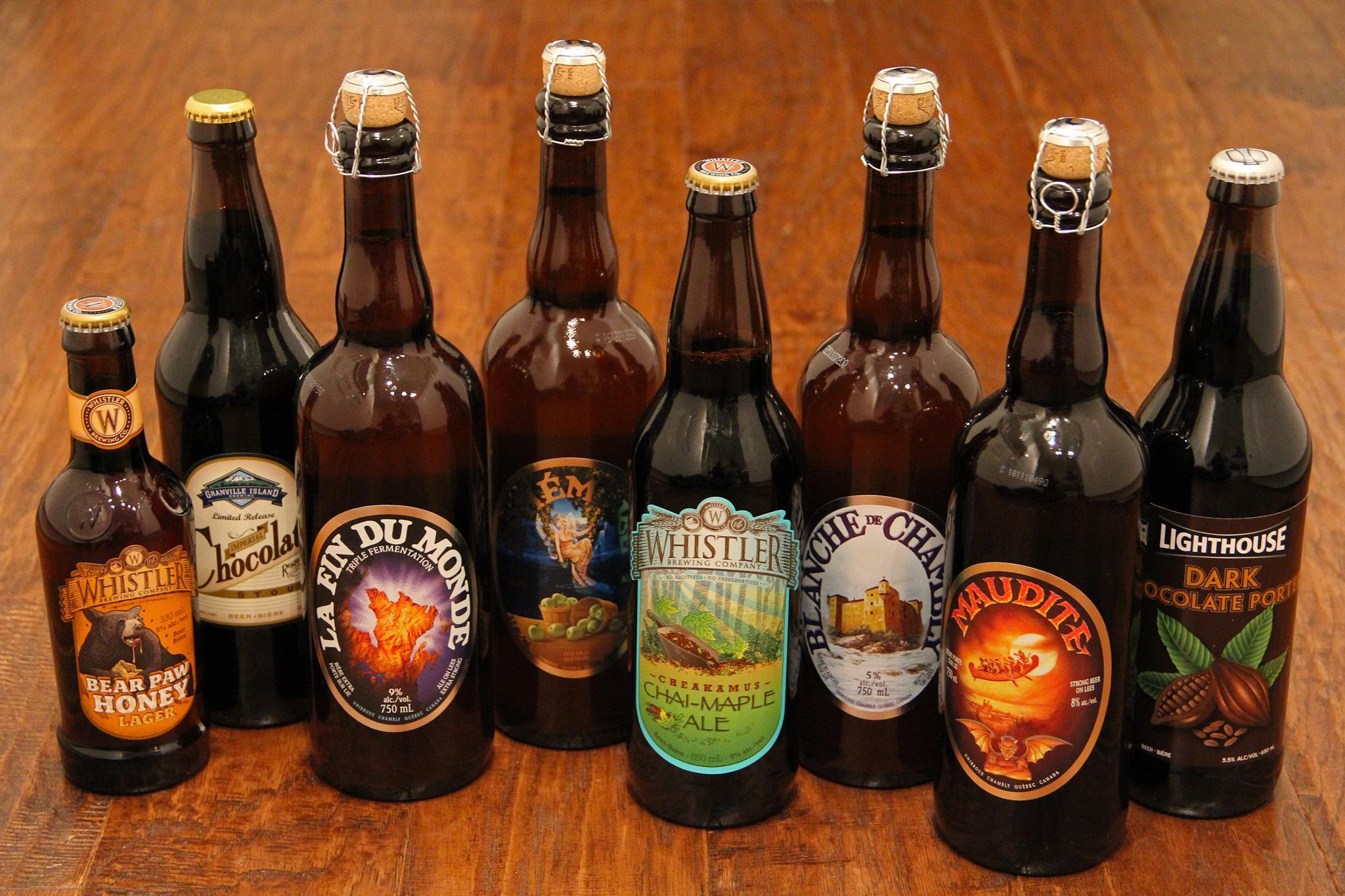 """Résultat de recherche d'images pour """"Les bieres canadiennes"""""""